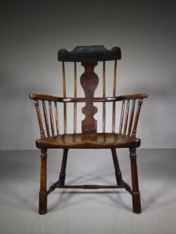 Important 18th Century Antique Welsh Snowdonia Armchair