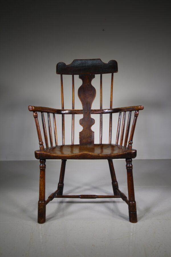 Important 18th Century Antique Welsh Snowdonia Armchair   Miles Griffiths Antiques