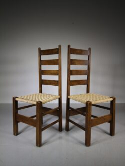 Pair of Heals Antique Letchworth Chairs