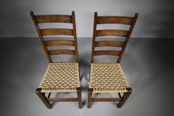 Pair of Heals Antique Letchworth Chairs | Miles Griffiths Antiques