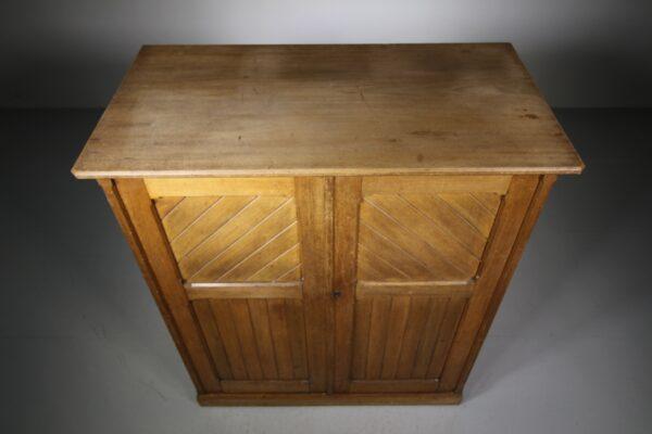 English 19th Century Antique Linen Press Cupboard | Miles Griffiths Antiques