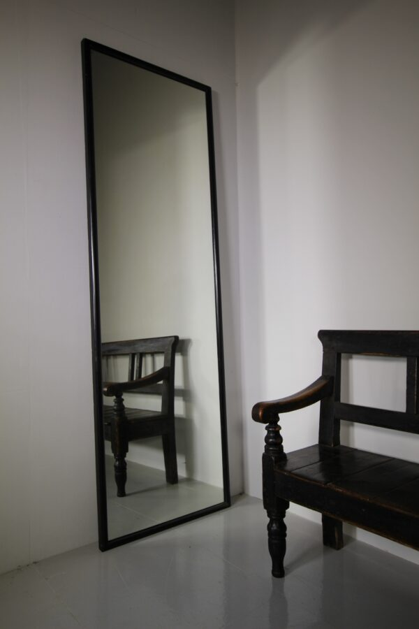 Large English 19th Century Antique Shop Fitting Mirror   Miles Griffiths Antiques