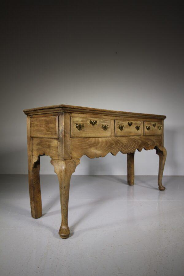 English 18th Century Antique Elm Dresser | Miles Griffiths Antiques