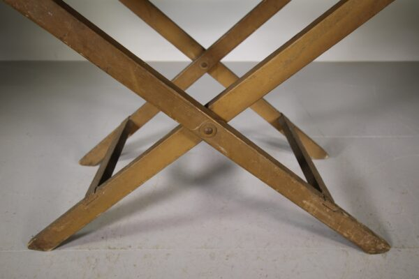 English 19th Century Original Painted Pine Antique Table   Miles Griffiths Antiques