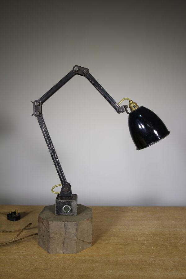 1950's Memlite Vintage Machinists Table Lamp   Miles Griffiths Antiques