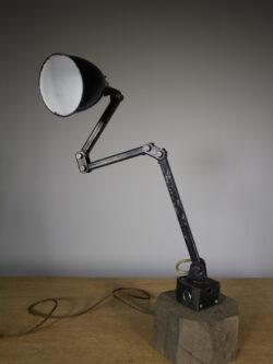1950's Memlite Vintage Machinists Table Lamp