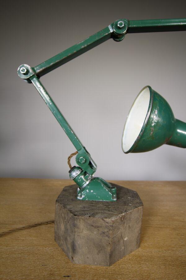 Large 1940's Machinists Table Lamp by E.D.L. | Miles Griffiths Antiques