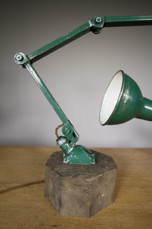 Large 1940's Machinists Table Lamp by E.D.L.   Miles Griffiths Antiques