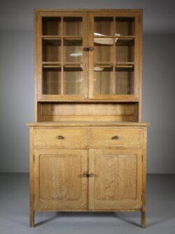 Heals Antique Oak Cupboard – Labelled