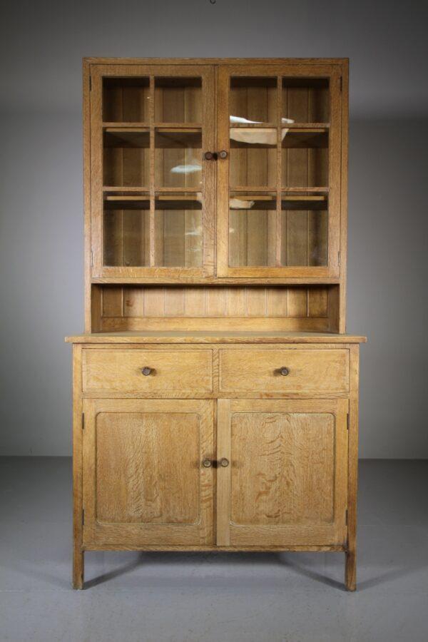 Heals Antique Oak Cupboard - Labelled | Miles Griffiths Antiques