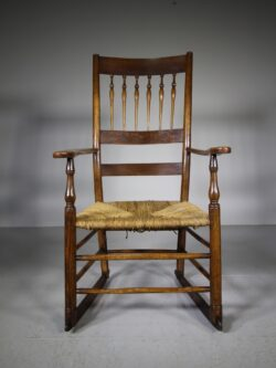 Herefordshire Antique Spindle Back Armchair- Very Clissett
