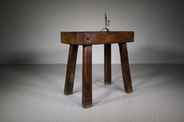 English 19th Century Antique Elm Chopping Table | Miles Griffiths Antiques