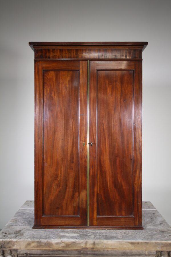 Regency Antique Wall Cabinet - Fabulous Interior | Miles Griffiths Antiques