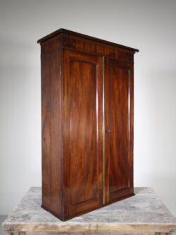 Regency Antique Wall Cabinet – Fabulous Interior