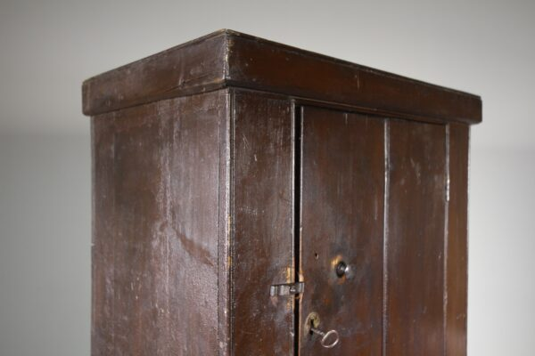 English Original Painted Pine Cupboard | Miles Griffiths Antiques