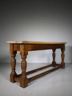 Fabulous English 19th Century Antique Walnut Side Table