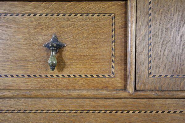 19th Century Antique Oak Chest by Marsh Jones & Cribb | Miles Griffiths Antiques