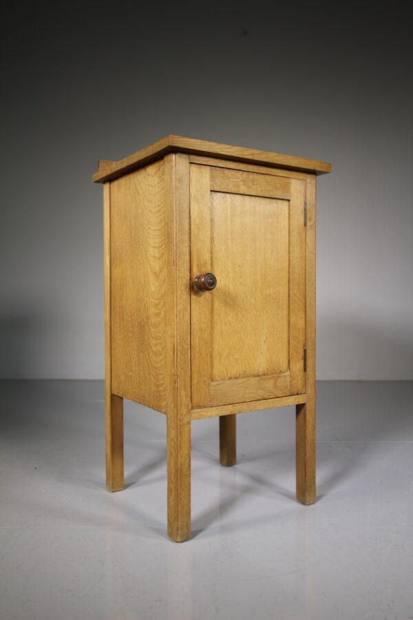 Heals 1920's Oak Bedside Cupboard | Miles Griffiths Antiques