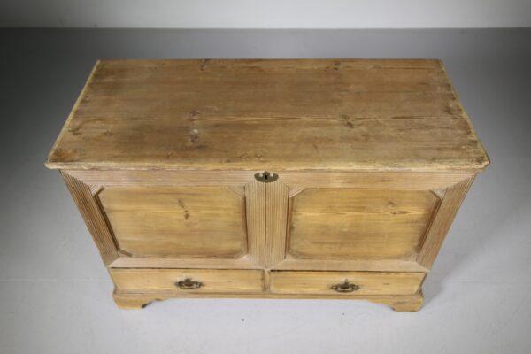 Georgian Antique Pine Mule Chest Box | Miles Griffiths Antiques