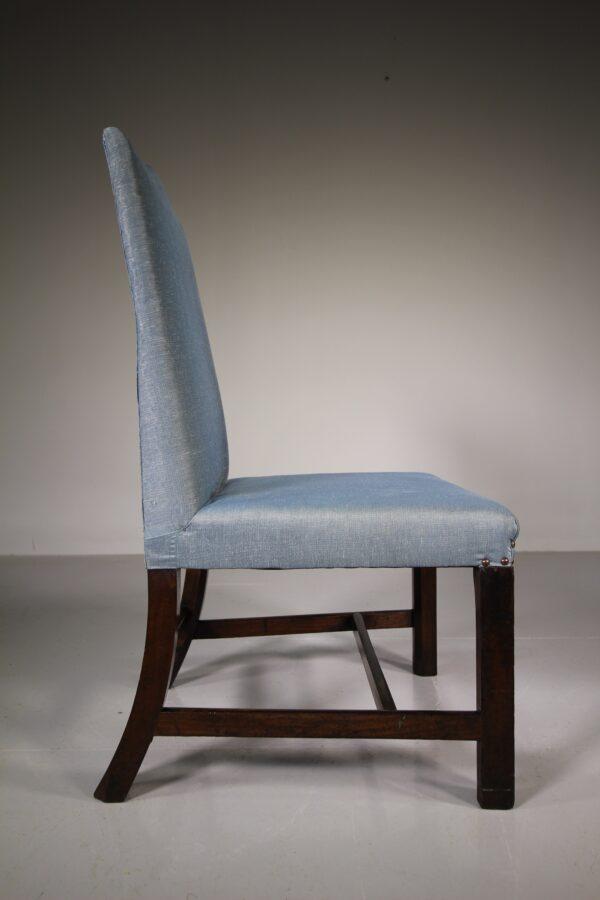 18th Century Antique Mahogany Gainsborough Chair | Miles Griffiths Antiques