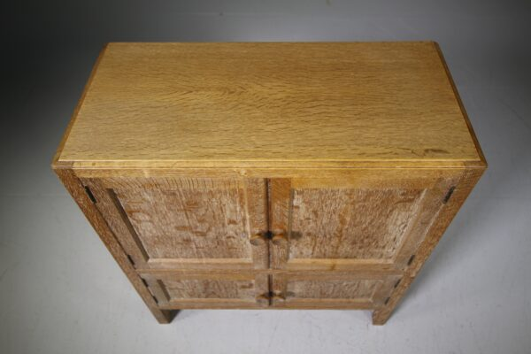 Heals 1920's Oak Four Door Cupboard | Miles Griffiths Antiques