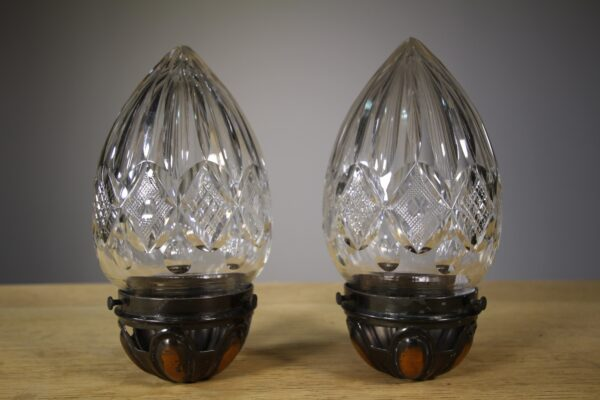 Pair of Edwardian Antique Light Fittings | Miles Griffiths Antiques