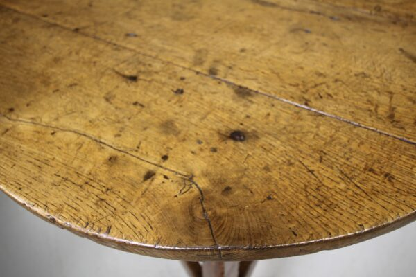 18th Century Antique Welsh Oak Cricket Table   Miles Griffiths Antiques