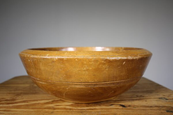 Large 19th Century Antique Sycamore Dairy Bowl | Miles Griffiths Antiques