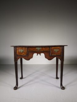 Early 18th Century Antique Period Oak Low Boy Table