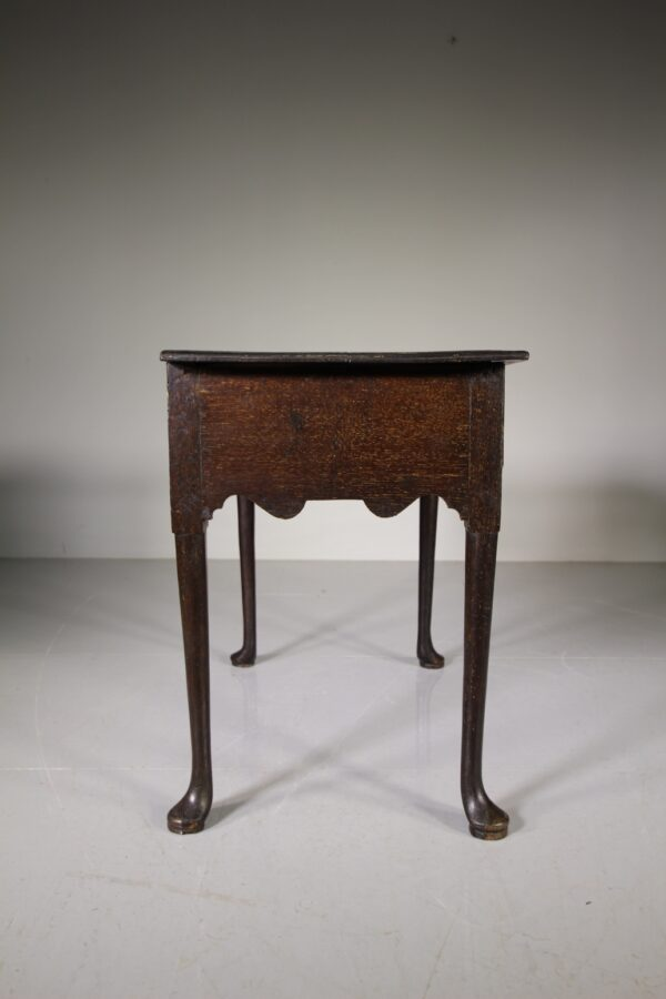 Early 18th Century Antique Period Oak Low Boy Table | Miles Griffiths Antiques