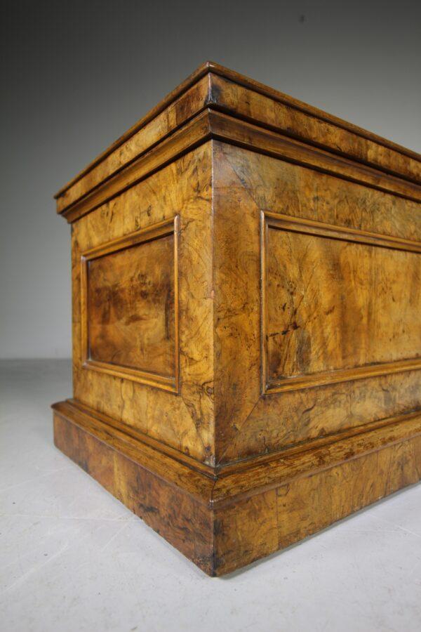 English Regency Antique Walnut Tantalus Chest | Miles Griffiths Antiques