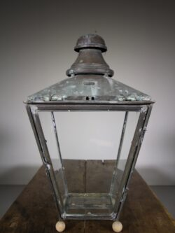 19th Century Antique Copper Lantern by Foster & Pullen