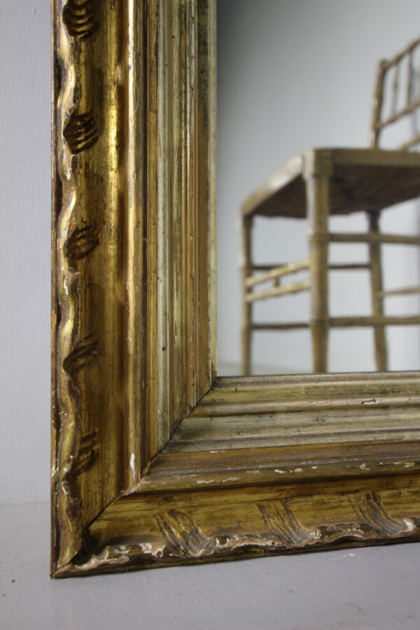 Early 19th Century Carved Wood Antique Gilt Mirror   Miles Griffiths Antiques