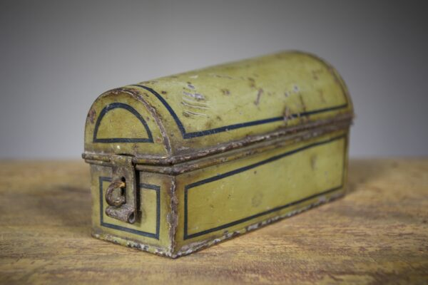 English 19th Century Toleware Antique Nutmeg Box | Miles Griffiths Antiques
