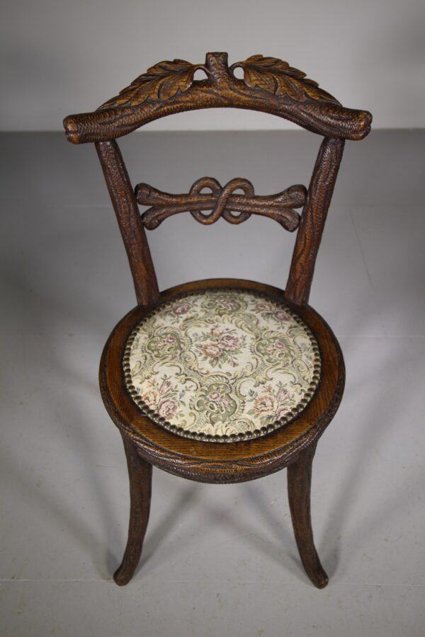 19th Century Black Forest Antique Side Chair | Miles Griffiths Antiques