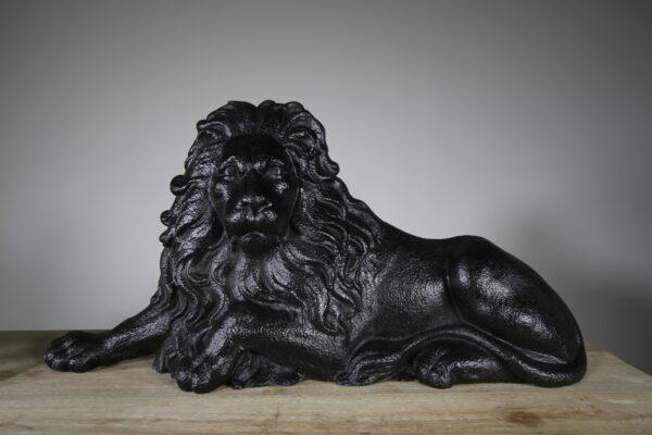Large Pair of Original Antique Lion & Unicorn Door Stops | Miles Griffiths Antiques