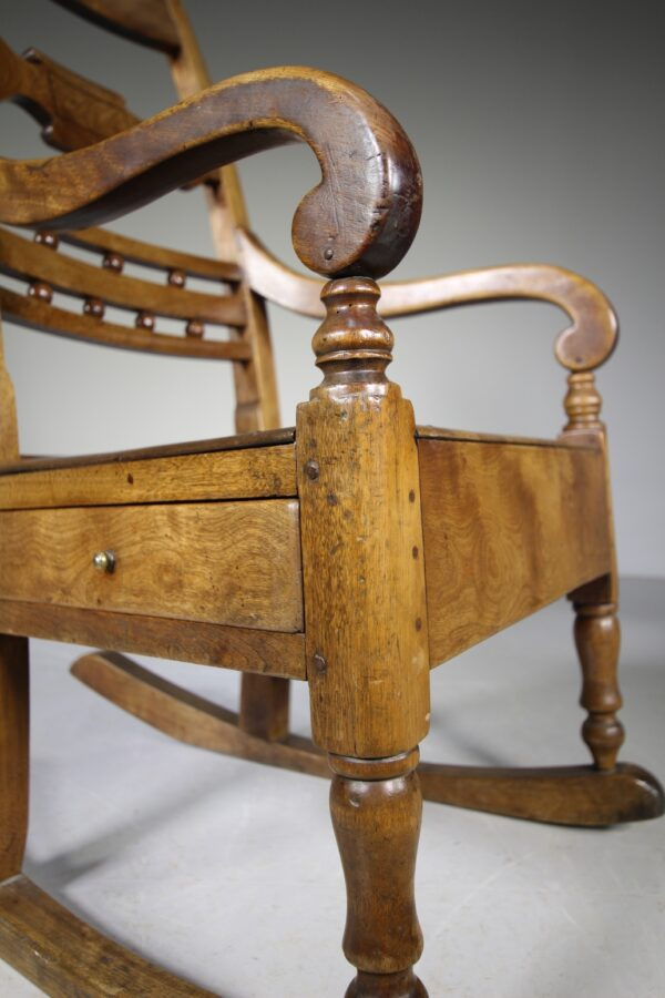 19th Century Scottish Antique Country Armchair   Miles Griffiths Antiques