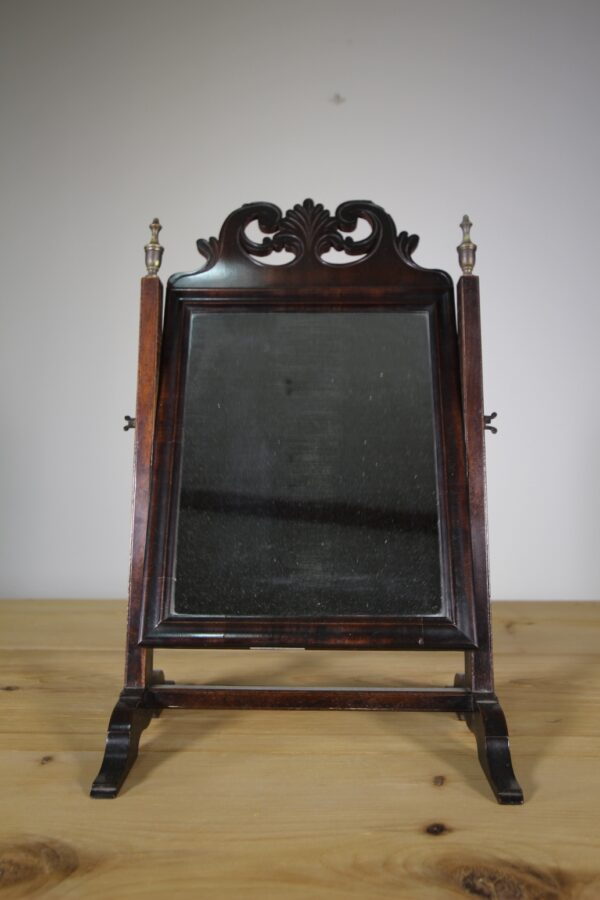 Decorative Georgian Antique Mahogany Vanity Mirror | Miles Griffiths Antiques
