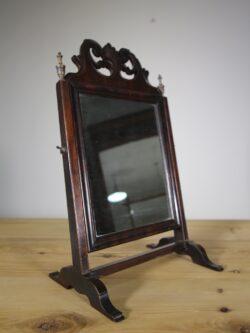Decorative Georgian Antique Mahogany Vanity Mirror