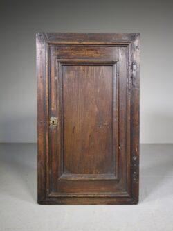 English 18th Century Antique Walnut Corner Cupboard