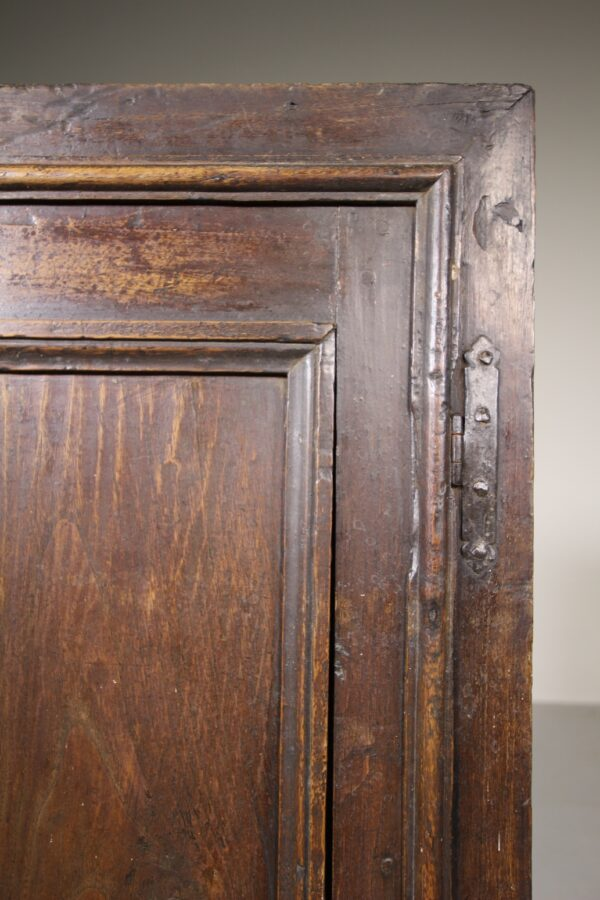 English 18th Century Antique Walnut Corner Cupboard | Miles Griffiths Antiques