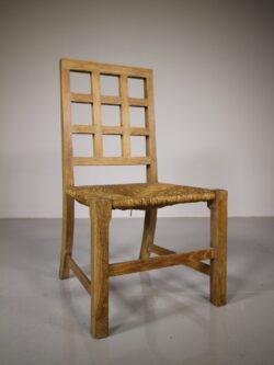Rare Heals Antique Oak Child's Chair in Oak