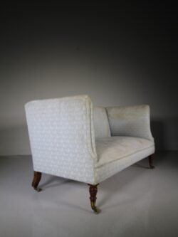 19th Century Antique Howard & Sons Sofa-Labelled