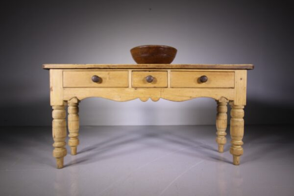 19th Century English Antique Pine Serving Table | Miles Griffiths Antiques