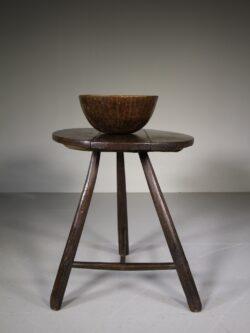 Welsh 18th Century Primitive Antique Dairy Table