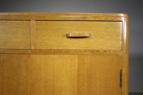 Heals of London 1940's Oak Sideboard - Labelled | Miles Griffiths Antiques