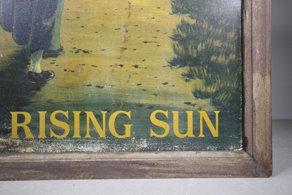 English Edwardian Hand Painted Antique Tavern Sign   Miles Griffiths Antiques
