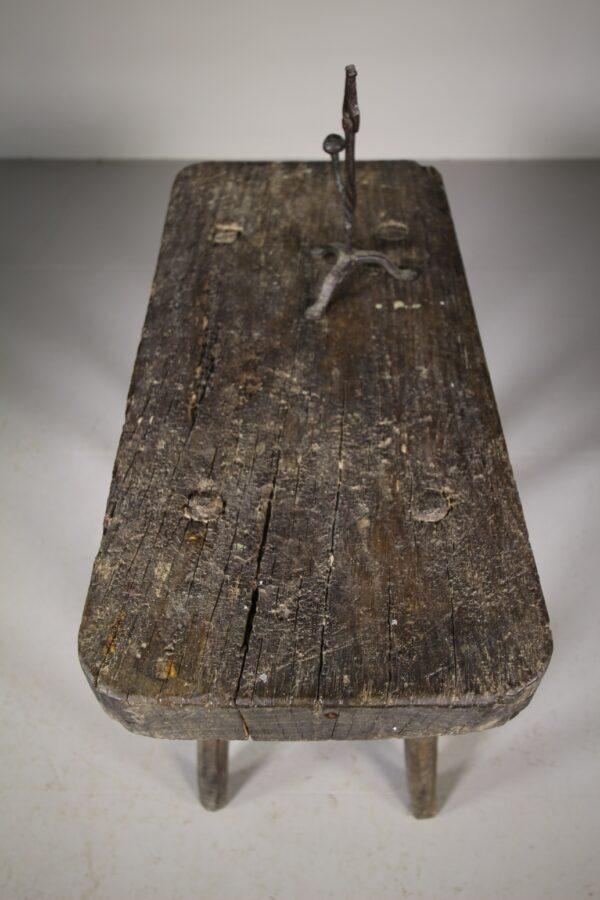 English 19th Century Primitive Antique Side Table | Miles Griffiths Antiques
