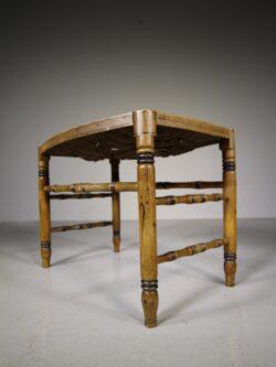 English Regency Original Painted Pine Antique Stool