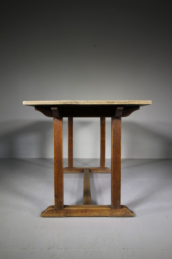 Heals Antique Oak Refectory Dining Table | Miles Griffiths Antiques